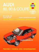 Руководство по ремонту и эксплуатации Audi 80 / Audi 90 / Audi Coupe. Модели с 1986 по 1990 год выпуска, оборудованные бензиновыми двигателями