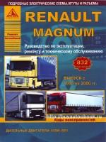 Руководство по ремонту и эксплуатации Renault Magnum. Модели с 1990 по 2006 год, оборудованные дизельными двигателями