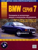 Руководство по ремонту и эксплуатации BMW 7. Модели с 1977 по 1994 год выпуска, оборудованные бензиновыми двигателями