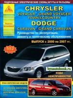 Руководство по ремонту и эксплуатаци Chrysler Voyager / Dodge Caravan. Модели с 2000 по 2007 год выпуска, оборудованные бензиновыми и дизельными двигателями