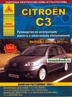 Руководство по ремонту и эксплуатации Citroen C3. Модели с 2001 по 2011 год выпуска, оборудованные бензиновыми и дизельными двигателями