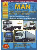 Руководство по ремонту, техническому обслуживанию и эксплуатации MAN L2000 / LE2000 / M2000L / M2000M / ME2000 / F90 / M90 / F2000. Модели оборудованные дизельными двигателями