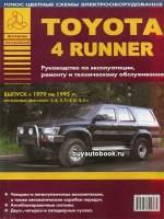 Руководство по ремонту, инструкция по эксплуатации Toyota 4Runner. Модели с 1979 по 1995 год выпуска, оборудованные бензиновыми двигателями