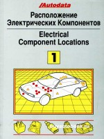 Расположение электрических компонентов (Electrical Component Locations). Модели до 1992 года выпуска (Том 1)