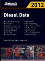 Регулировочные данные по дизельным моделям автомобилей 2002-2012 годов выпуска.
