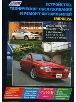 Руководство по ремонту, инструкция по эксплуатации Subaru Impreza. Модели с 1993 по 2005 год выпуска, оборудованные бензиновыми двигателями