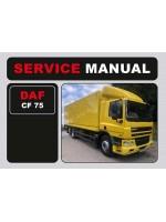 Инструкция по эксплуатации и техобслуживанию DAF CF 75. Модели, оборудованные дизельными двигателями