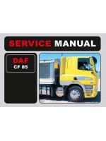 Инструкция по эксплуатации и техобслуживанию DAF CF 85. Модели, оборудованные дизельными двигателями