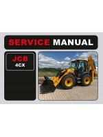 Инструкция по эксплуатации JCB 4CX. Модели, оборудованные дизельными двигателями
