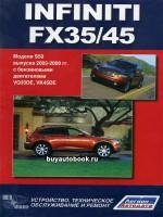 Руководство по ремонту и эксплуатации Infiniti FX 35 / FX 45. Модели с 2003 года, оборудованные бензиновыми двигателями