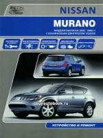 Руководство по ремонту и эксплуатации Nissan Murano. Модели с 2002 года выпуска, оборудованные бензиновыми двигателями