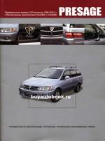 Руководство по ремонту и эксплуатации Nissan Presage. Модели с 1998 по 2003 год выпуска, оборудованные бензиновыми двигателями