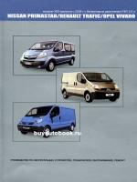 Руководство по ремонту Renault Trafic / Opel Vivaro / Nissan Primastar. Модели с 2004 года выпуска, оборудованные бензиновыми двигателями.