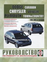 Руководство по ремонту и эксплуатации Chrysler Voyager / Dodge Caravan / Plymouth Town / County. Модели с 1996 по 2006 года выпуска, оборудованные бензиновыми и дизельными двигателями