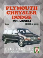 Руководство по ремонту и эксплуатации Chrysler Voyager / Dodge Caravan / Plymouth Town / County. Модели с 1983 по 1996 года выпуска, оборудованные бензиновыми и дизельными двигателями