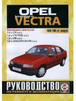 Руководство по ремонту и эксплуатации Opel Vectra. Модели с 1988 по 1995 году, оборудованные бензиновыми двигателями