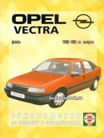 Руководство по ремонту и эксплуатации Opel Vectra. Модели с 1988 по 1995 году, оборудованные дизельными двигателями