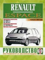 Руководство по ремонту и эксплуатации Renault Espace. Модели с 1997 года выпуска, оборудованные бензиновыми и дизельными двигателями