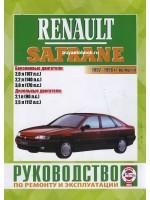 Руководство по ремонту и эксплуатации Renault Safrane. Модели с 1992 по 1996 год выпуска, оборудованные бензиновыми и дизельными двигателями