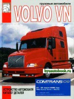 Каталог деталей Volvo VN. Устройство автомобиля. Модели с 1996 года выпуска, оборудованные дизельными двигателями