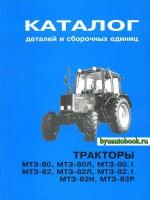 Каталог деталей и сборочных единиц Беларусь МТЗ 80 / МТЗ 82. Модели, оборудованные дизельными двигателями