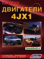 Руководство по ремонту, инструкция по эксплуатации, техническое обслуживание двигателей Isuzu 4JX1
