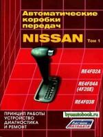 Принцип работы, устройство, диагностика и ремонт автоматической коробки передач Nissan RE4F02A / RE4F04A (4F20E) / RE4F03B. Том 1