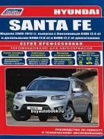 Руководство по ремонту и эксплуатации Hyundai Santa Fe. Модели с 2009 по 2012 год, оборудованные бензиновыми и дизельными двигателями