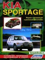 Руководство по ремонту Kia Sportage. Модели, оборудованные бензиновыми и дизельными двигателями