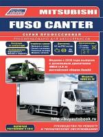 Руководство по ремонту и эксплуатации Mitsubishi Fuso Canter с 2010 года выпуска. Модели оборудованные дизельными двигателями