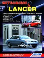 Руководство по ремонту и эксплуатации Mitsubishi Lancer X в фотографиях. Модели с 2001 по 2006 год, оборудованные бензиновыми двигателями