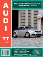 Руководство по ремонту и эксплуатации Audi TT с 1998 года выпуска. Модели оборудованные бензиновыми двигателями