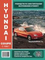 Руководство по ремонту и эксплуатации Hyundai Coupe (Хюндай Купе). Модели с 1996 года выпуска, оборудованные бензиновыми и дизельными двигателями
