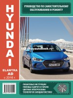 Руководство по ремонту и эксплуатации Hyundai Elantra AD. Модели с 2016 года, оборудованные бензиновыми и бензиновыми двигателями