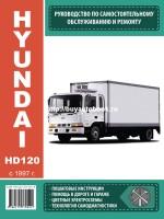 Руководство по ремонту и эксплуатации Hyundai HD 120 с 1997 года выпуска. Модели оборудованные дизельными двигателями