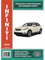 Руководство по ремонту и эксплуатации Infiniti QX 50. Модели с 2012 года выпуска, оборудованные бензиновыми двигателями