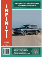Руководство по ремонту и эксплуатации Infiniti QX 60. Модели с 2014 года выпуска, оборудованные бензиновыми двигателями