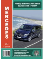 Руководство по ремонту и эксплуатации Mercedes Vito. Модели с 2018 года выпуска, оборудованные бензиновыми и дизельными двигателями