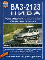 Руководство по ремонту и эксплуатации ВАЗ 2123 в цветных фотографиях, каталог деталей. Модели, оборудованные бензиновыми двигателями