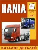 Каталог деталей и сборочных единиц HANIA. Модели, оборудованные дизельными двигателями. Том 1