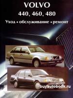 Руководство по ремонту, инструкция по эксплуатации Volvo 440 / 460 / 480. Модели с 1987 по 1992 год выпуска, оборудованные бензиновыми двигателями