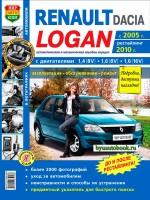 Руководство по ремонту и эксплуатации Renault Logan. Модели с 2005 года выпуска (+рестайлинг с 2010), оборудованные бензиновыми двигателями