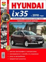 Руководство по ремонту в цветных фотографиях, инструкция по эксплуатации Hyundai ix35. Модели с 2010 года выпуска, оборудованные бензиновыми и дизельными двигателями.