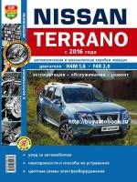 Руководство по ремонту и эксплуатации Nissan Terrano с 2016 года выпуска в фотографиях. Модели оборудованные бензиновыми двигателями