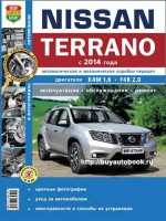 Руководство по ремонту и эксплуатации Nissan Terrano с 2014 года выпуска в фотографиях. Модели оборудованные бензиновыми двигателями