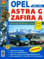 Руководство по ремонту и эксплуатации Opel Astra / Opel Zafira. Модели с 1998 по 2006 год выпуска, оборудованные бензиновыми и дизельными двигателями