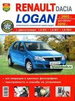 Руководство по ремонту и эксплуатации Renault Logan. Модели с 2005 года выпуска (рестайлинг 2010 г.), оборудованные бензиновыми двигателями