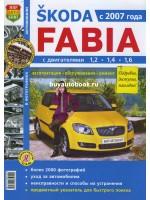 Руководство по ремонту и эксплуатации Skoda Fabia. Модели с 2007 года выпуска, оборудованные бензиновыми и дизельными двигателями