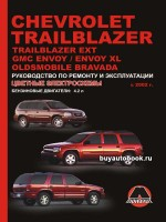 Руководство по ремонту Chevrolet Trailblazer