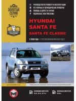 Руководство по ремонту и эксплуатации Hyundai Santa Fe / Santa Fe Classic. Модели с 2000 года  (+обновления 2004 г.), оборудованные бензиновыми и дизельными двигателями